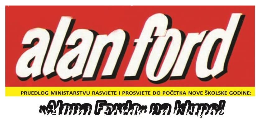 """POKLON ČITAOCIMA: SERIJAL TEKSTOVA O """"ALANU FORDU"""" (1)"""