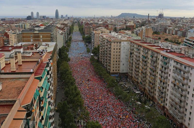ŠPANIJA: POBORNICI NEZAVISNOSTI KATALONIJE ZAPOČINJU KAMPANJU