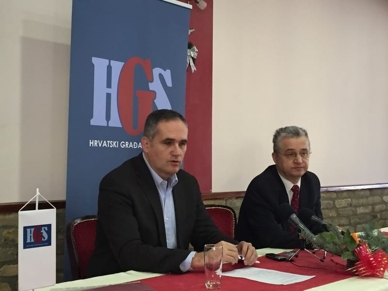 HGS: ŽIGMANOV PODGREVA STRAH KOD HRVATA U SRBIJI