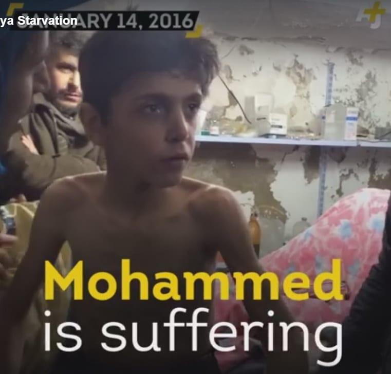 SIRIJA: LJUDI UMIRU OD GLADI U OPKOLJENOM GRADU MADAJI (VIDEO)