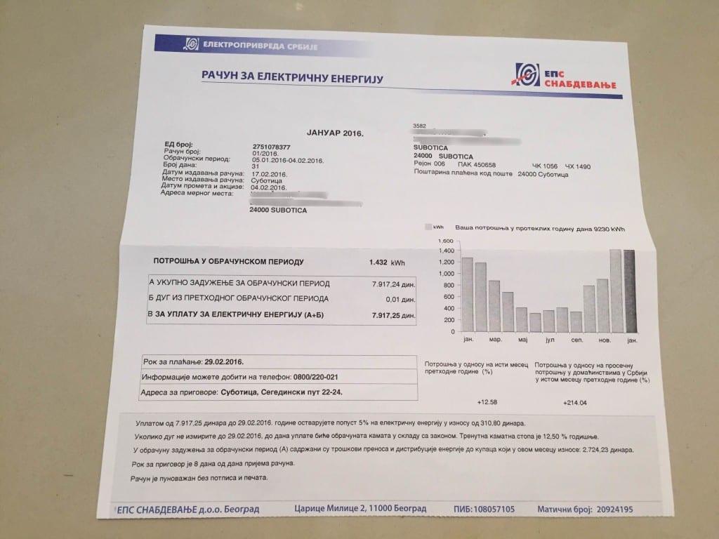 Zaštitnik građana pokrenuo postupak kontrole rada EPS-a zbog slučaja penzionera iz Sombora