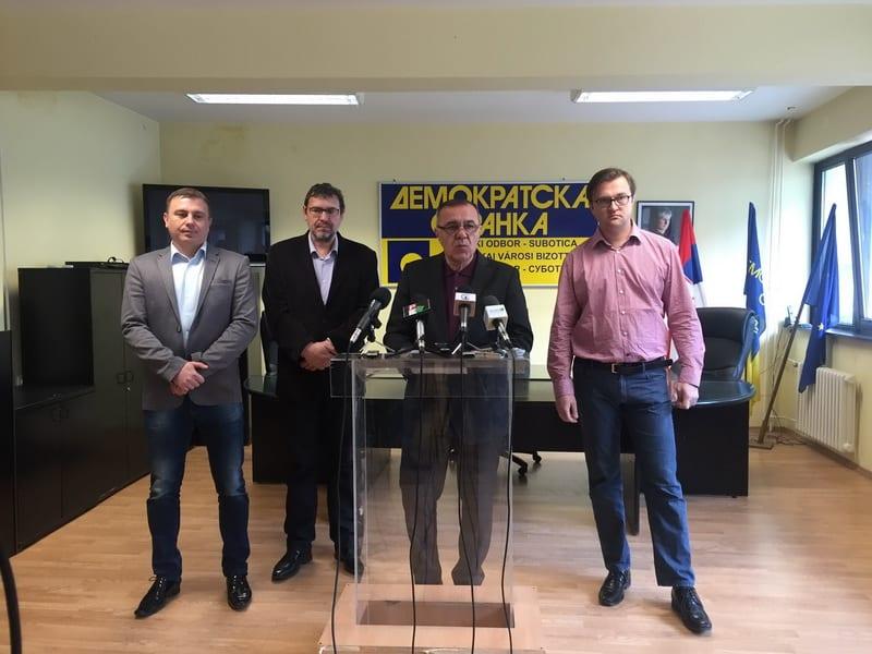 "KANDIDAT LISTE ""ZA PRISTOJNU SUBOTICU – DS, DSHV, LDP, NS"" SAŠA VUČINIĆ"
