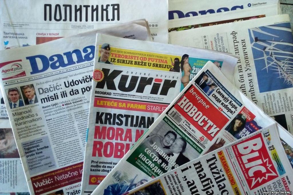 Mediji u Srbiji se takmiče u kršenju etike i kulture javne reči