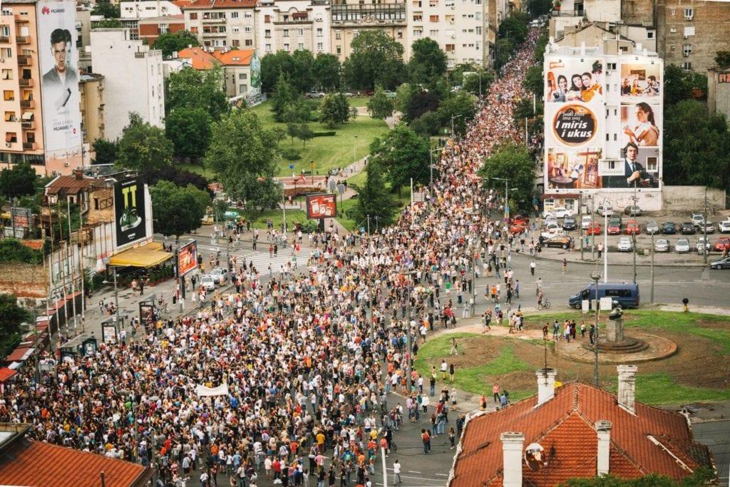 NE DA(VI)MO BEOGRAD: PROTESTNI KONCERT POVODOM DANA OSLOBOĐENJA BEOGRADA