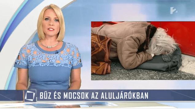 MAĐARSKA: BESKUĆNICI NOVI NEPRIJATELJI DRŽAVE U INFORMATIVNOM PROGRAMU TV2