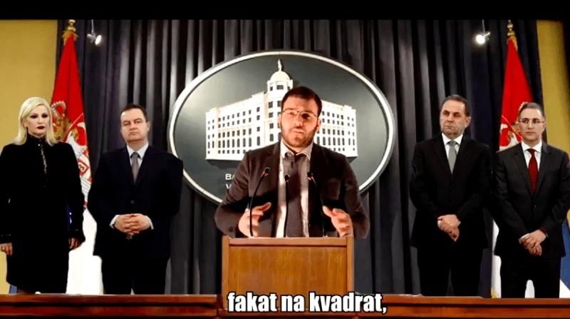 """ALEN MARKOVIĆ OBJAVIO NOVI SPOT """"VUČIĆ–NAMĆOR"""" I POZVAO MLADEDA GLASAJU (VIDEO)"""