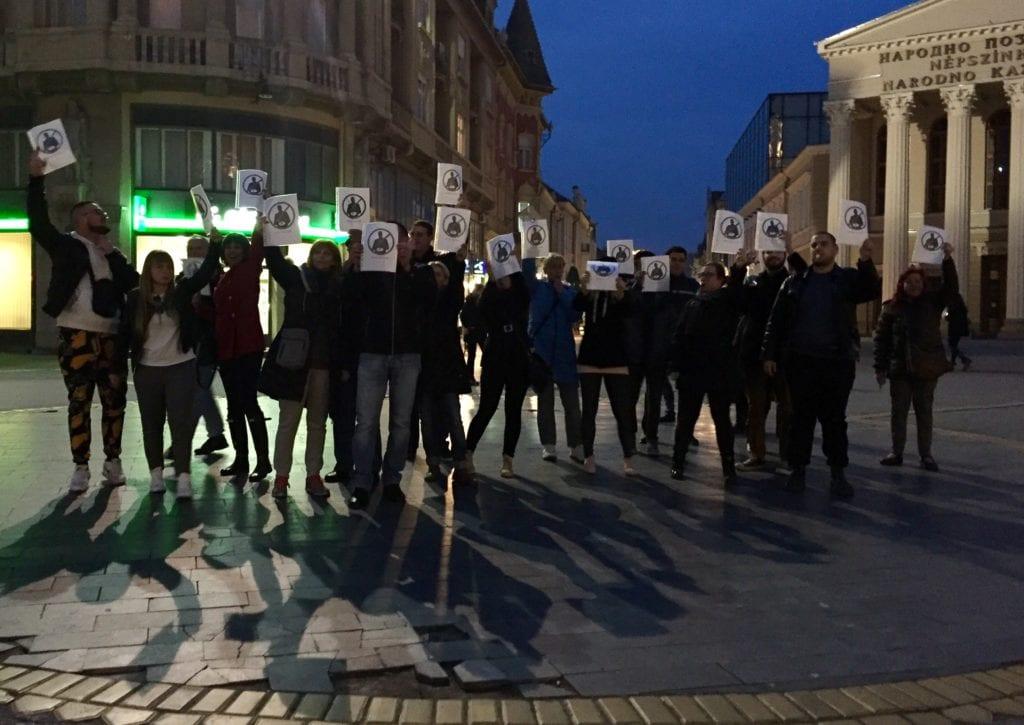 PROTEST U SUBOTICI: MEDIJI DA PITAJU ONE KOJI NE DOLAZE NA PROTESTE DA LI IM JE DOBRO