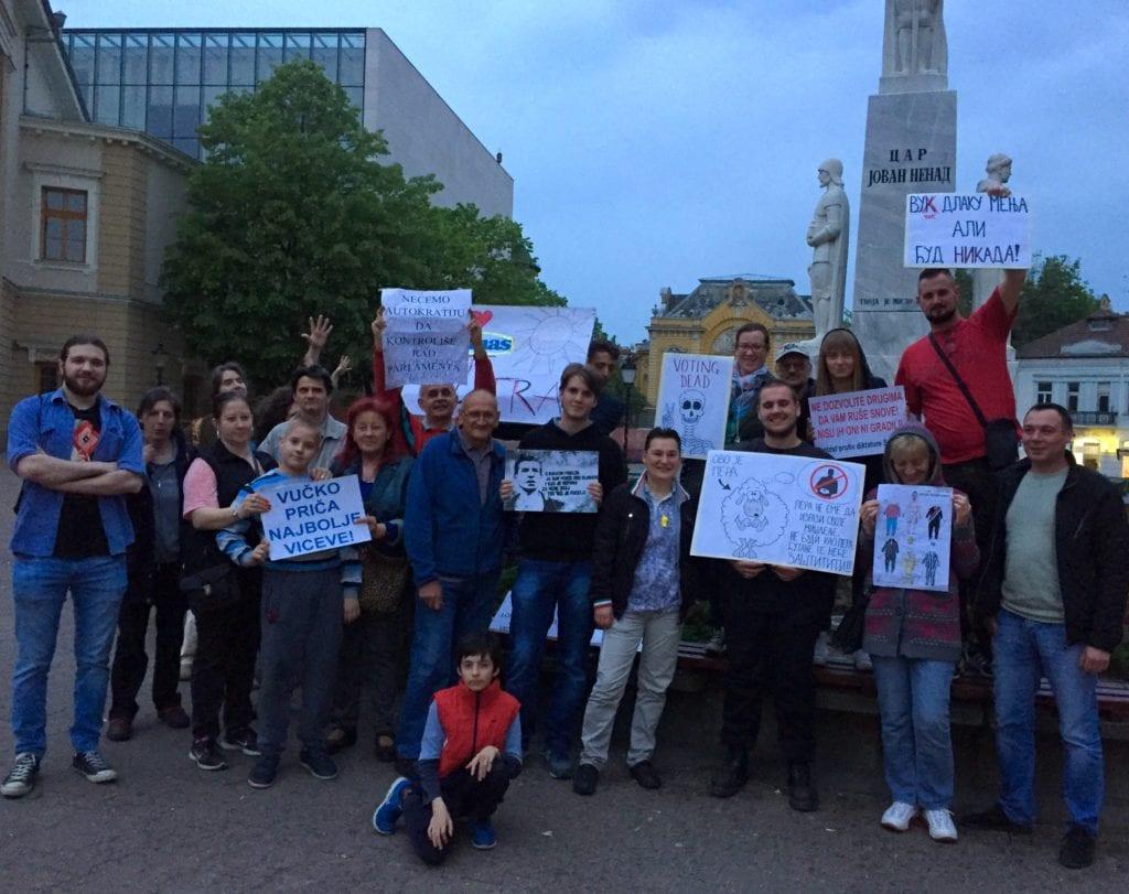 PROTEST U SUBOTICI: SRAMOTNE IZJAVE ODBORNICE DA ZA RAD U KULTURI NIJE POTREBNO OBRAZOVANJE
