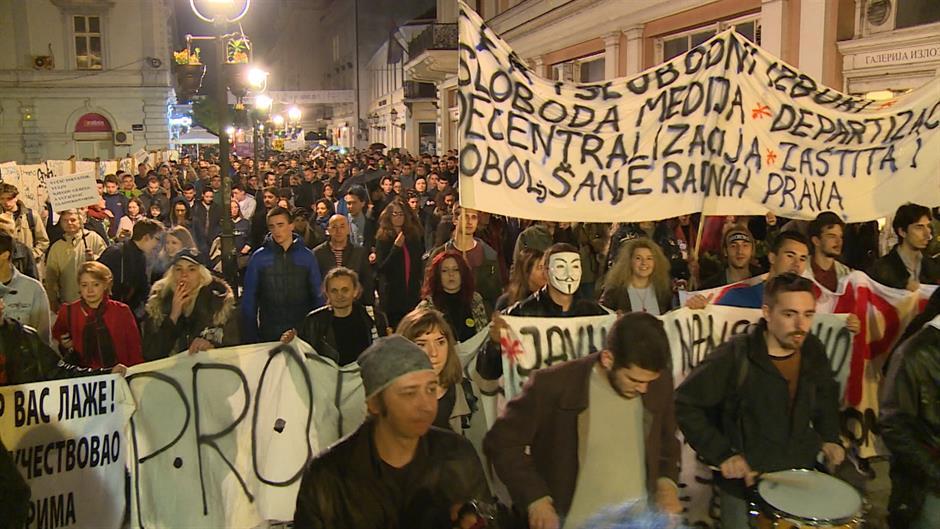 PROTEST U BEOGRAD: PROTIV TERORA VLASTI