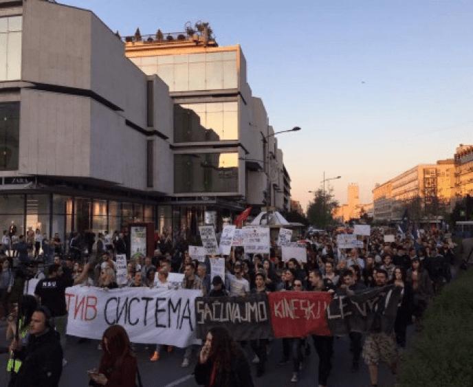 PROTEST PROTIV DIKTATURE: VLAST REKLA ŠTA MISLI O NAMA, SAMO NAM JE ULICA PREOSTALA