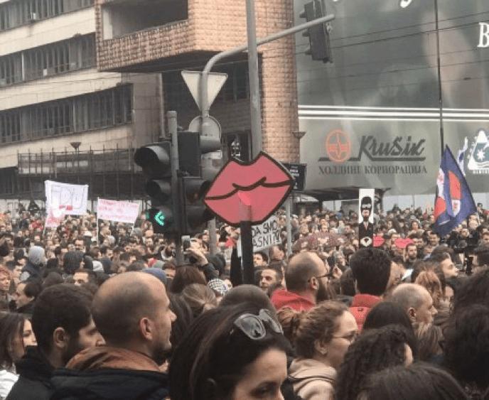 PROTEST U BEOGRADU ZAVRŠEN BEZ INCIDENATA – PROTESTI I U ČAČKU, KRUŠEVCU, NIŠU…