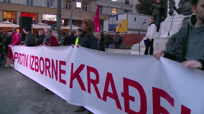 PROTEST U BEOGRADU: GRAĐANI DA NE DOZVOLE DA IM VLAST ODUZME NJIHOVA PRAVA