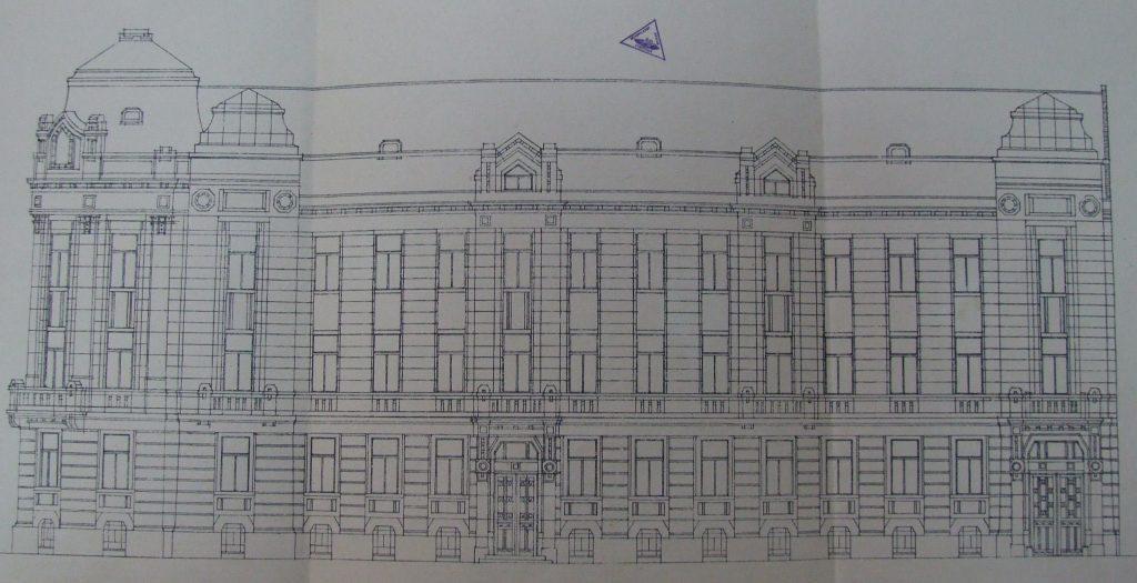 Projekat juzne fasade - Istorijski arhiv Subotica