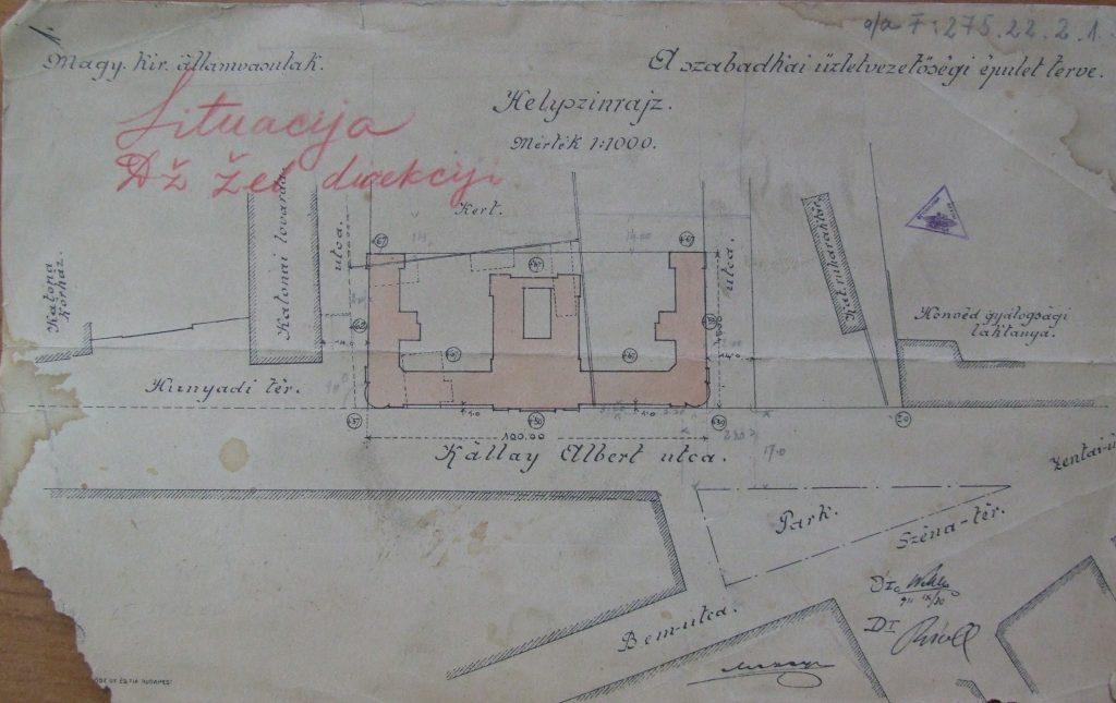 Situacija - Istorijski arhiv Subotice