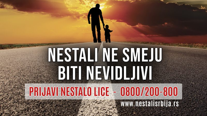 """FONDACIJA TIJANA JURIĆ POKREĆE KAMPANJU """"NESTALI NE SMEJU BITI NEVIDLJIVI"""""""