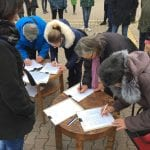 protest protiv unistavanja kulturne bastine1