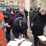 protest protiv unistavanja kulturne bastine4