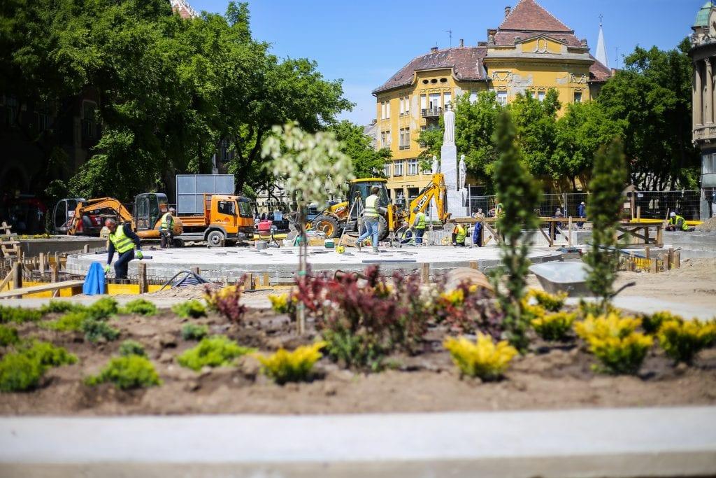 Laban: Nova fontana gotova početkom avgusta