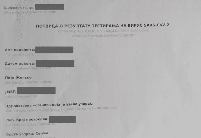 Tatjana Ljubić: Uradila sam test na antitela korona virusa i ispala – pozitivna