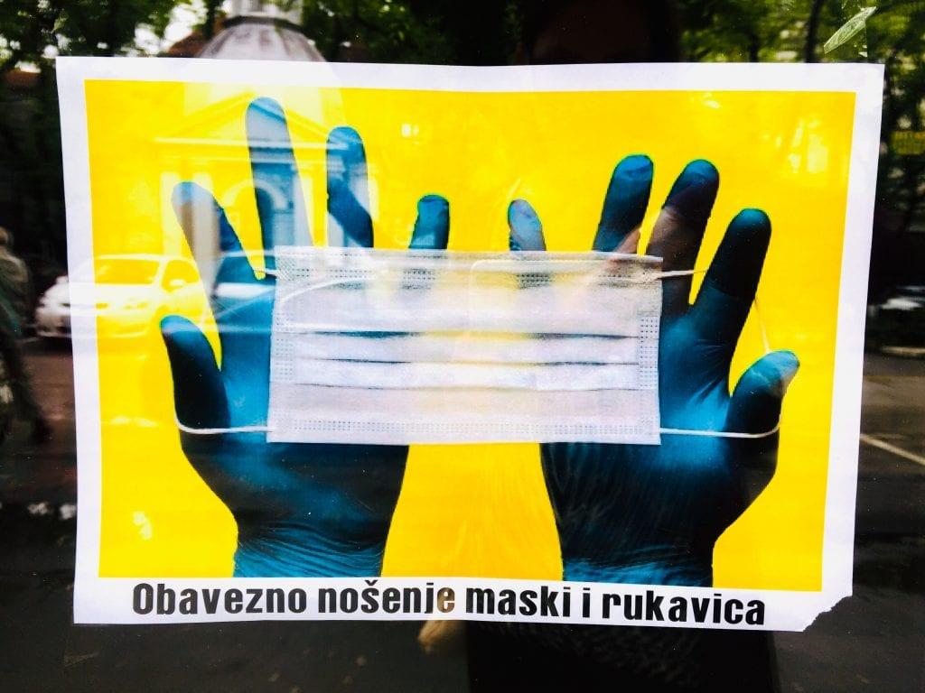 Gradski štab za vanredne situacije doneo naredbu: Upotreba zaštitnih maski obavezna u svim zatvorenim prostorima