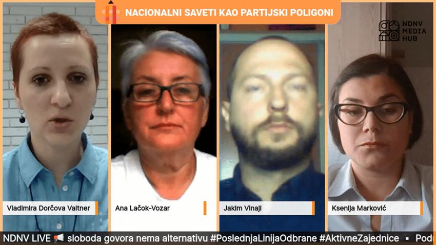 """Emisija NDNV-a """"Nacionalni saveti kao partijski poligoni"""": Urušavanje manjinske samouprave"""