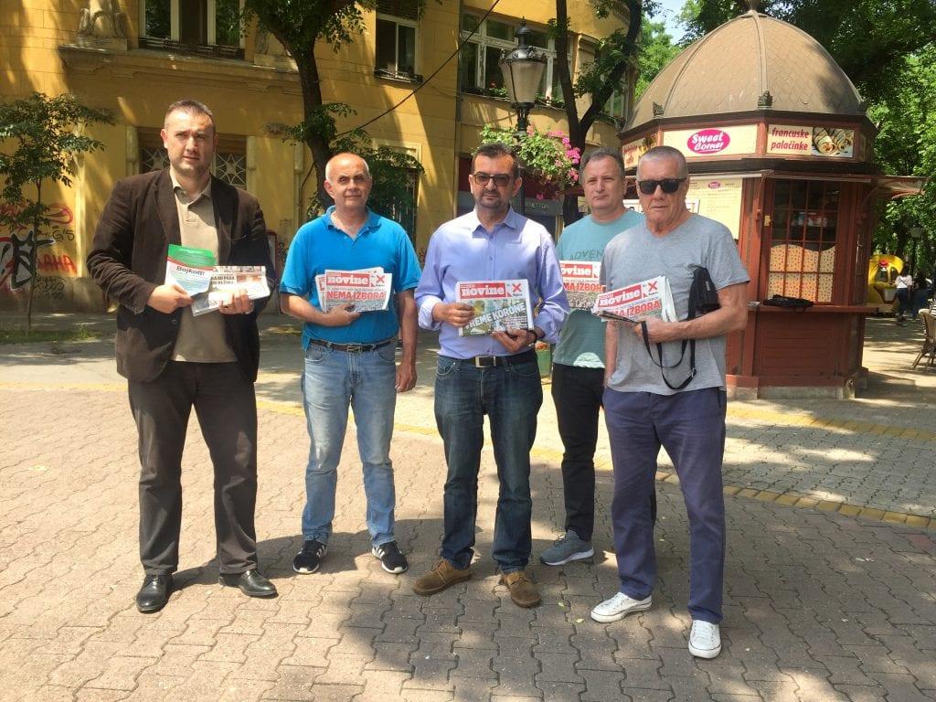 Subotica: Pokret za preokret, Savez za Srbiju i DZVM pozvali pripadnike manjina na bojkot izbora