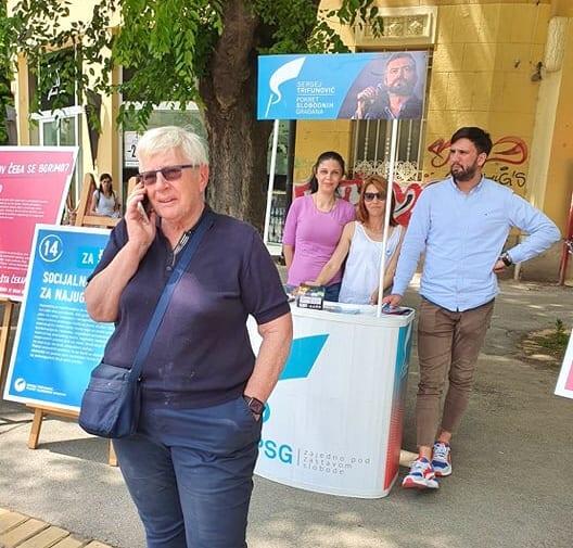 Turajlić: Pokret slobodnih građana želi da kroz mlade vrati građanima poverenje u politiku