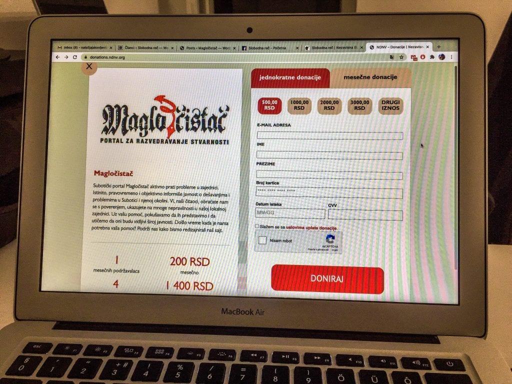 Portal Magločistač pokrenuo jednokratnu donatorsku kampanju za redizajn sajta (VIDEO)