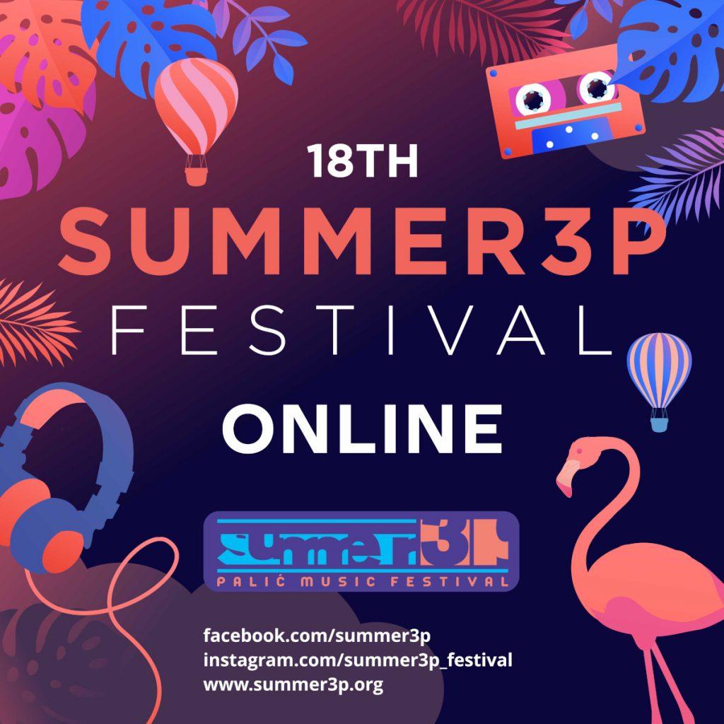 Osamnaesti Summer3p festival biće održan u onlajn formatu