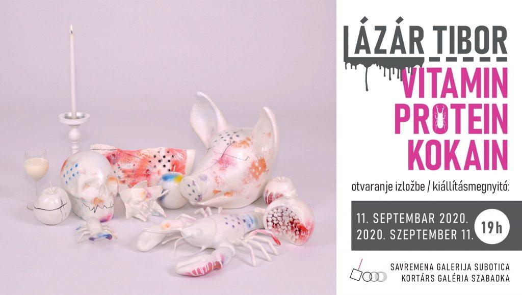 """Savremena galerija Subotica: Otvaranje izložbe """"Vitamin, protein, kokain"""" Tibora Lazara u petak, 11. septembra"""