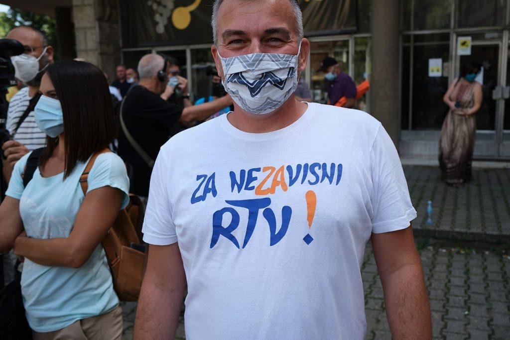 Šper (UGS Nezavisnost): Dobio sam pretnje od vozača predsednika sindikata