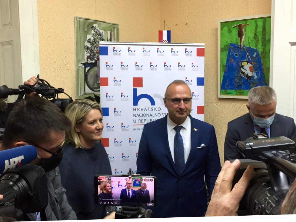 Grlić Radman: Hrvatska podržava Srbiju na putu ka EU, rešiti otvorena pitanja između dve države