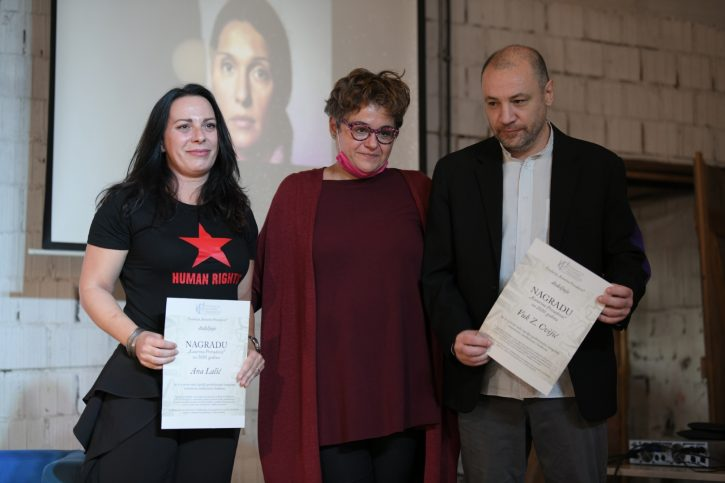 Ana Lalić i Vuk Cvijić dobili nagrade za novinarsku hrabrost