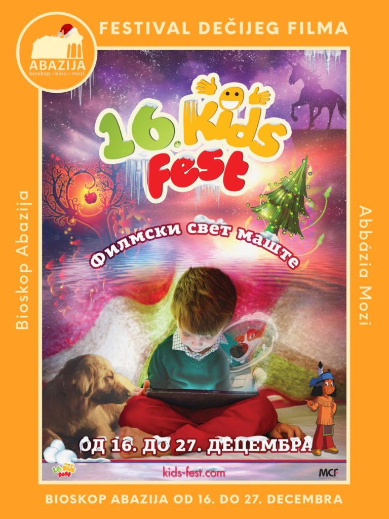 "Filmski festival ""Kids Fest"" u Bioskopu ""Abazija"""
