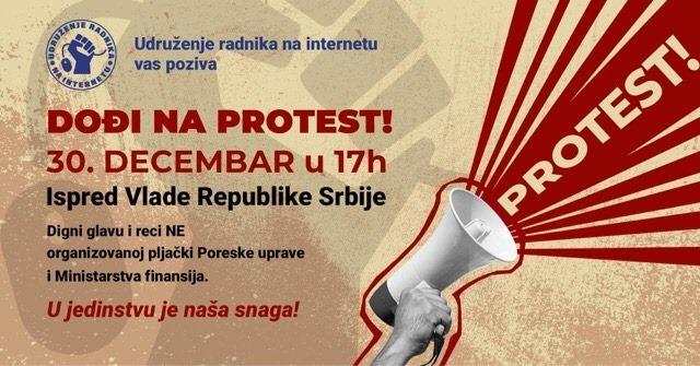 Poreska uprava počela masovno da šalje pozive frilenserima, najavljen protest ispred Vlade