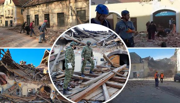 """HGS i """"Koraci"""" prikupljaju sredstva za stambene kontejnere za stradale u zemljotresu u Baniji"""