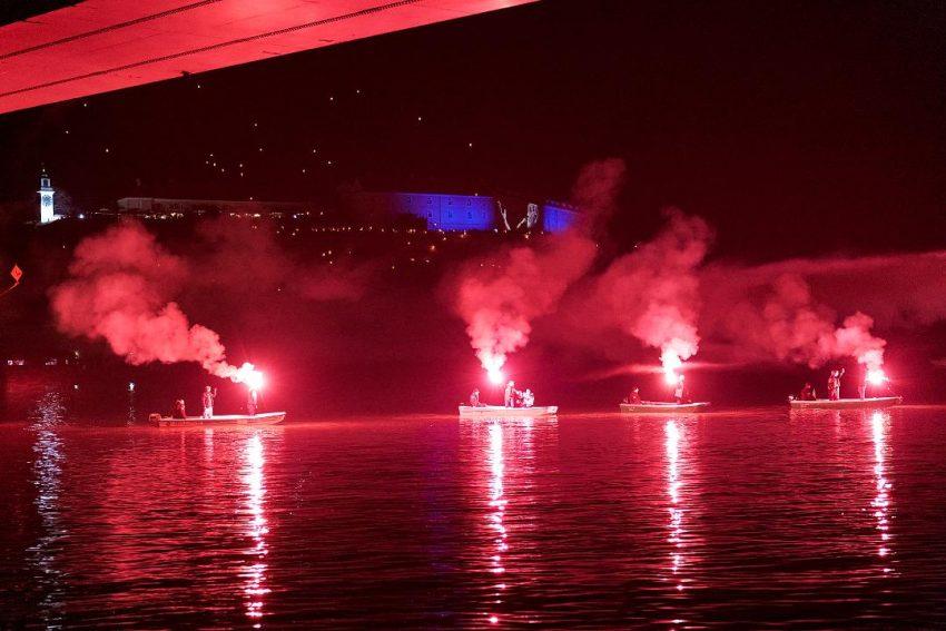 Hiljade građana na novosadskom keju ispratilo svog panonskog mornara