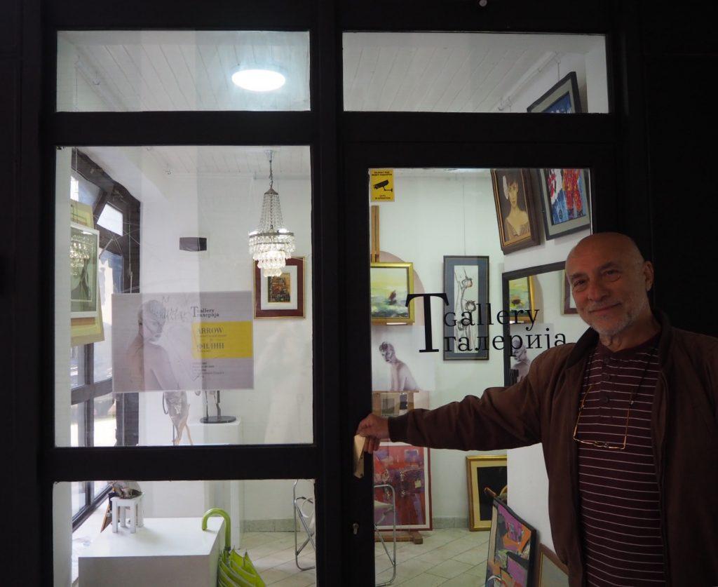 """Vlasnik """"T Galerije"""" Mile Tasić: """"Ako u kulturi nema entuzijazma, ljubavi i iskrenosti, onda nema ni umetnosti"""""""