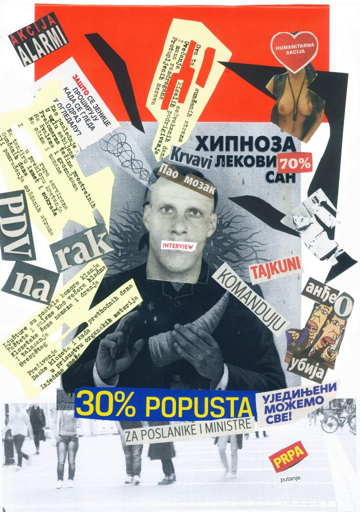 """Savremena galerija Subotica: Promocija knjige vizuelne poezije """"Teško u glavi"""" i izložba """"signal-iza-C-i-JA"""" 19. avgusta"""