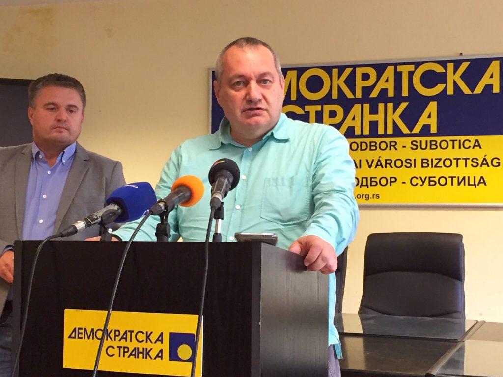 """Milivojević (DS) pozvao gradsku vlast u Subotici da odmah uskrati prostorije Fondaciji kapetan Dragan: """"Sraman pečat nečoveštva"""""""