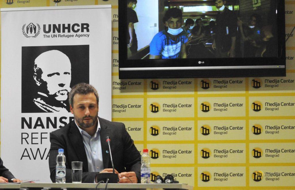 """Pravnik iz Srbije dobitnik nagrade """"Nansen"""" za pomoć izbeglicama"""