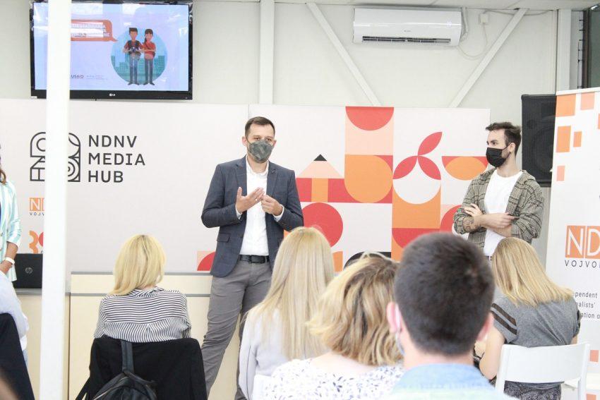 NDNV započeo osmomesični program stažiranja mladih novinara i novinarki