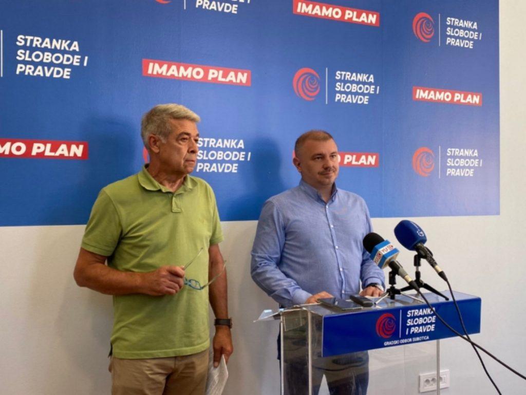 Stranka slobode i pravde Subotica podnosi krivičnu prijavu vezano za projekat akva parka na Paliću