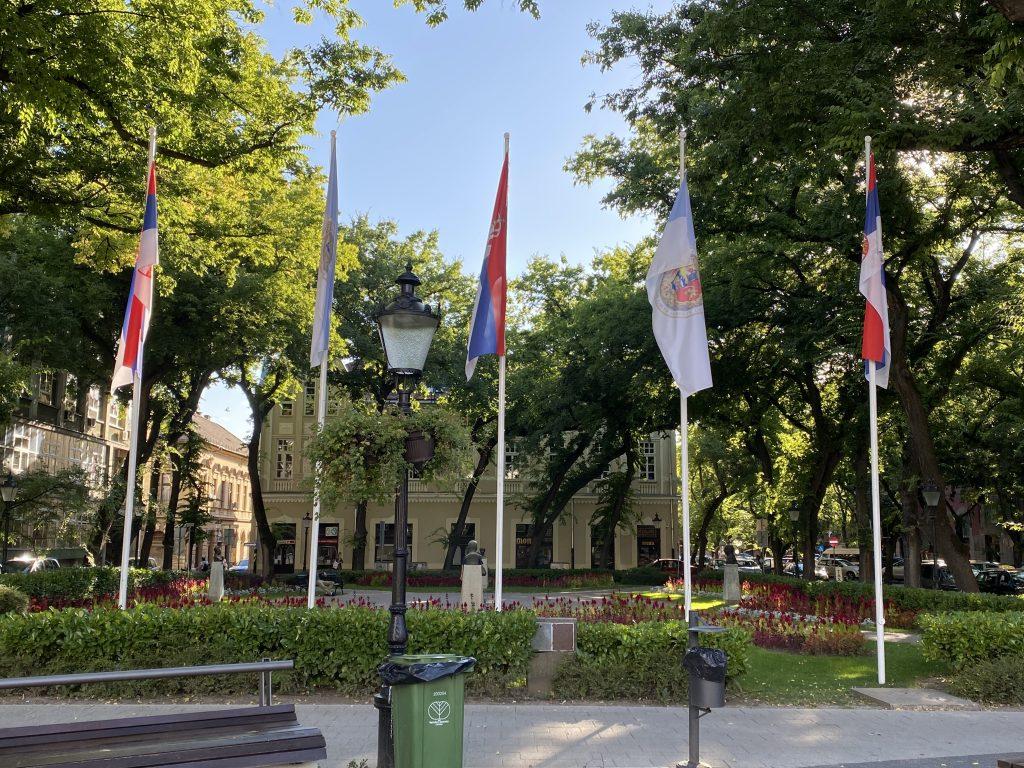 Grad Subotica okićen zastavama, donacija vredna gotovo 2 miliona dinara