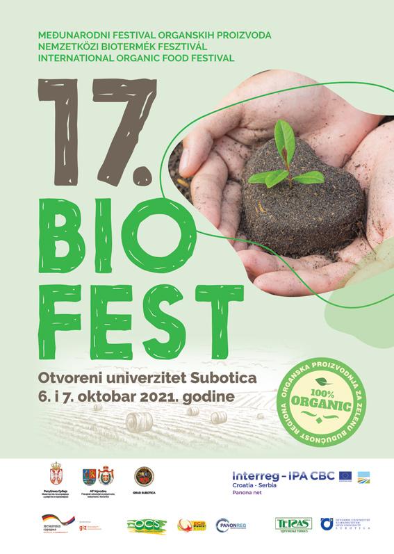 Međunarodni festival organskih proizvoda BIOFEST 6. i 7. oktobra u Subotici